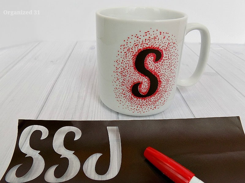 Easy Sharpie Dot Mug - Organized 31