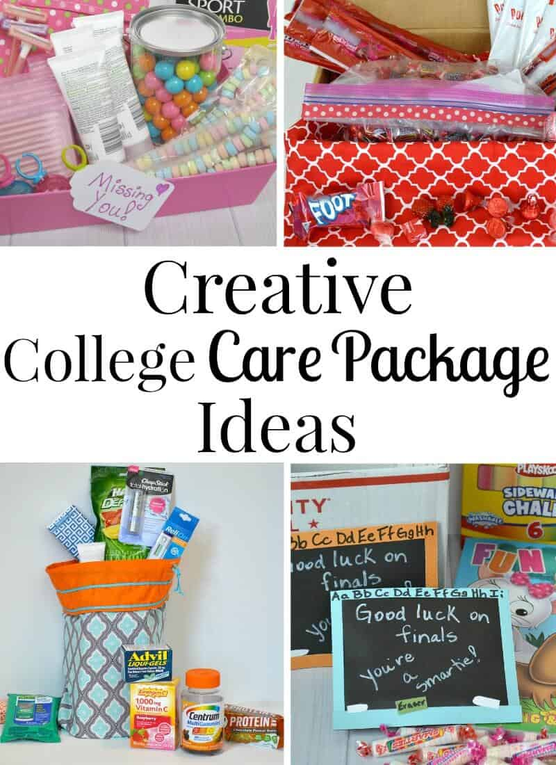 creative college care package