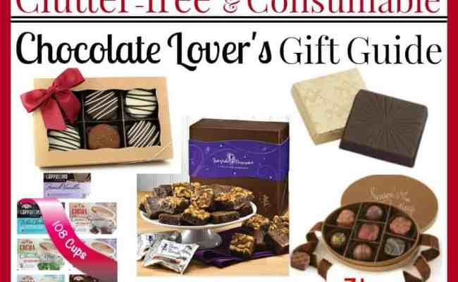 Chocolate Lover S Gift Guide Clutter Free Gifts