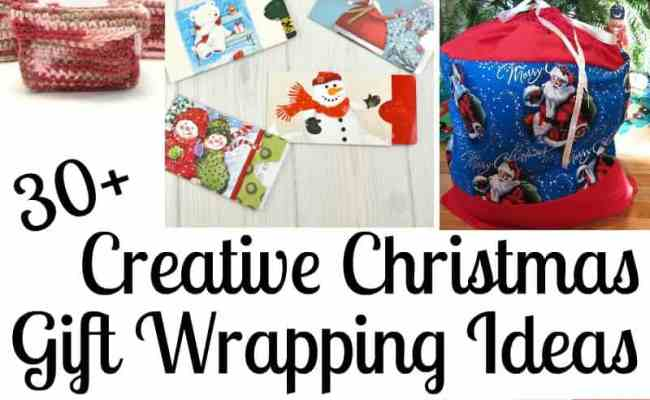 30 Creative Christmas Gift Wrapping Ideas Organized 31