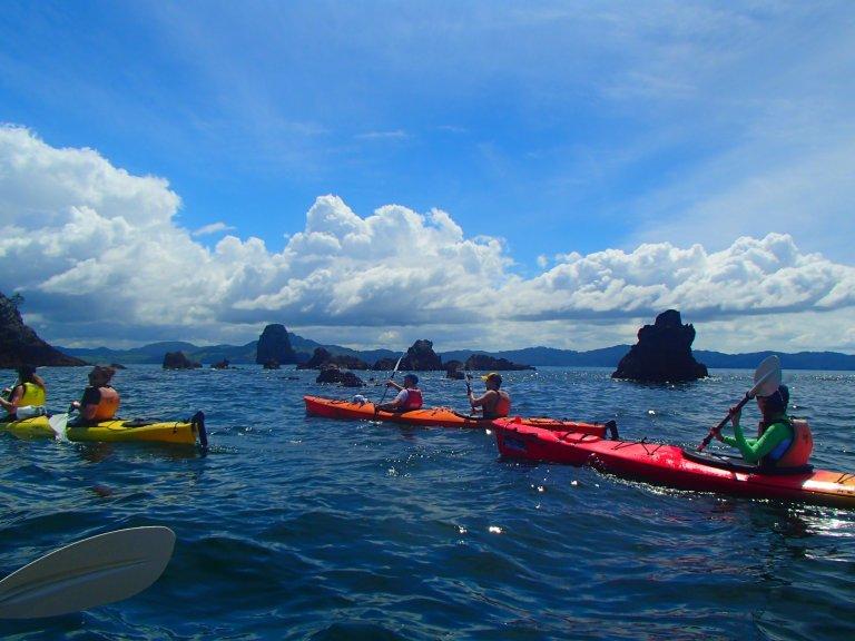 Kayaking in Hahei New Zealand