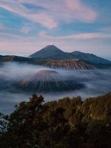 Sunrise over Mount Bromo Java Indonesia