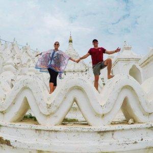 Hsinbyume Pagoda Mingun Mandalay Myanmar
