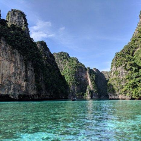 Pileh Bay Phi Phi Islands Thailand