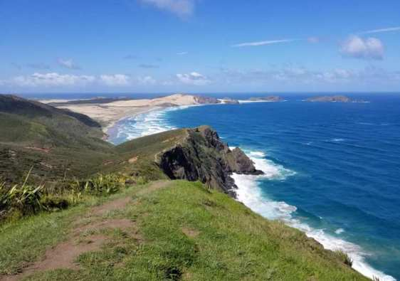 Cape Reinga coastline New Zealand