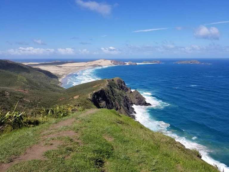 Cape Reinga coastline New Zealand