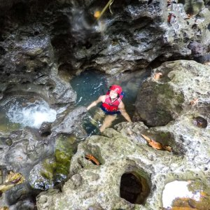 Body rafting Green Canyon Indonesia