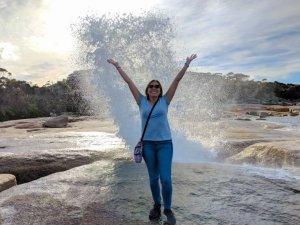 Bicheno Blowhole Tasmania Australia