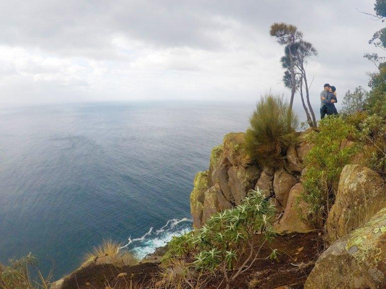 Fluted Cape Walk Bruny Island Tasmania Australia