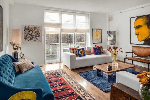 Rich Jewel Tones - Interior Design Trends of 2019