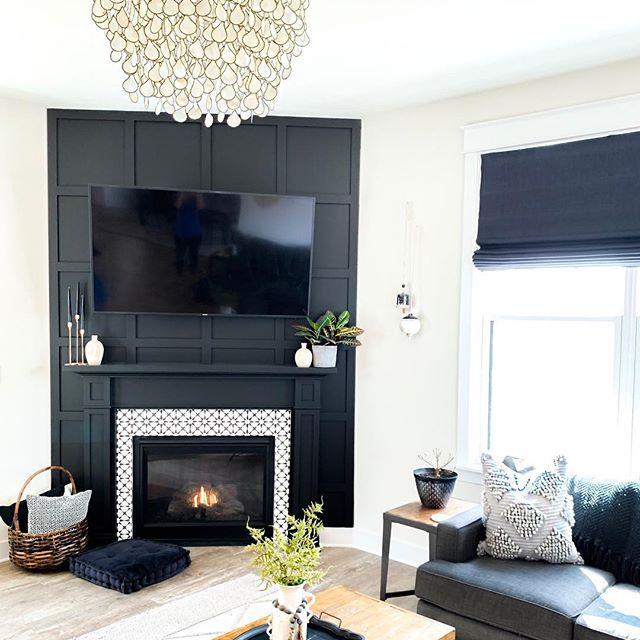 Jenny Hollander Home Style Firepalce