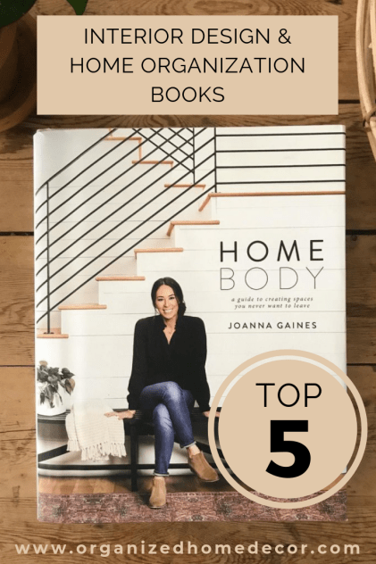Top 5 Home Organizaiton and Interior Design Books