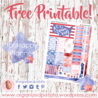 Free Planner Printable: Stars & Stripes