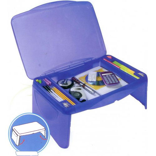 Kids Storage Lap Desk  Blue In Lap Desks