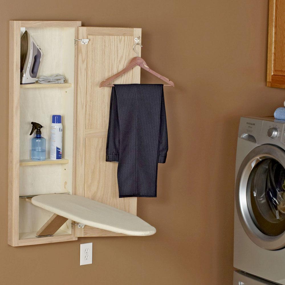 Wall Ironing Board Cabinet