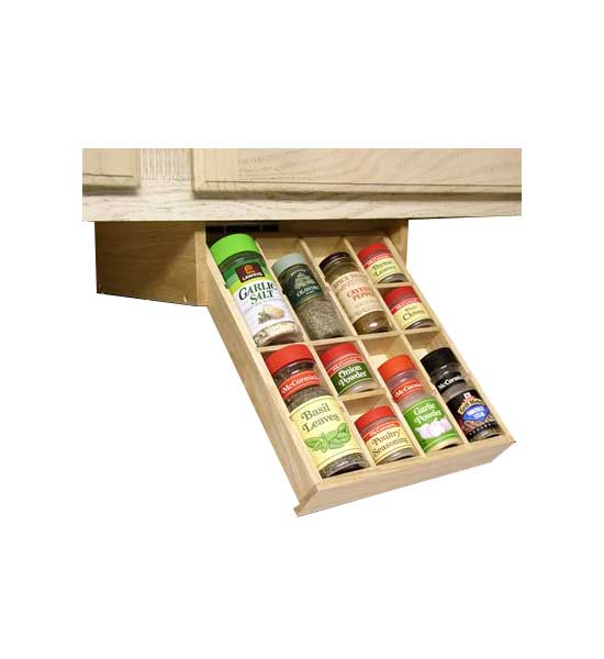 Spice Organizer  Under Cabinet In Spice Drawer Organizers