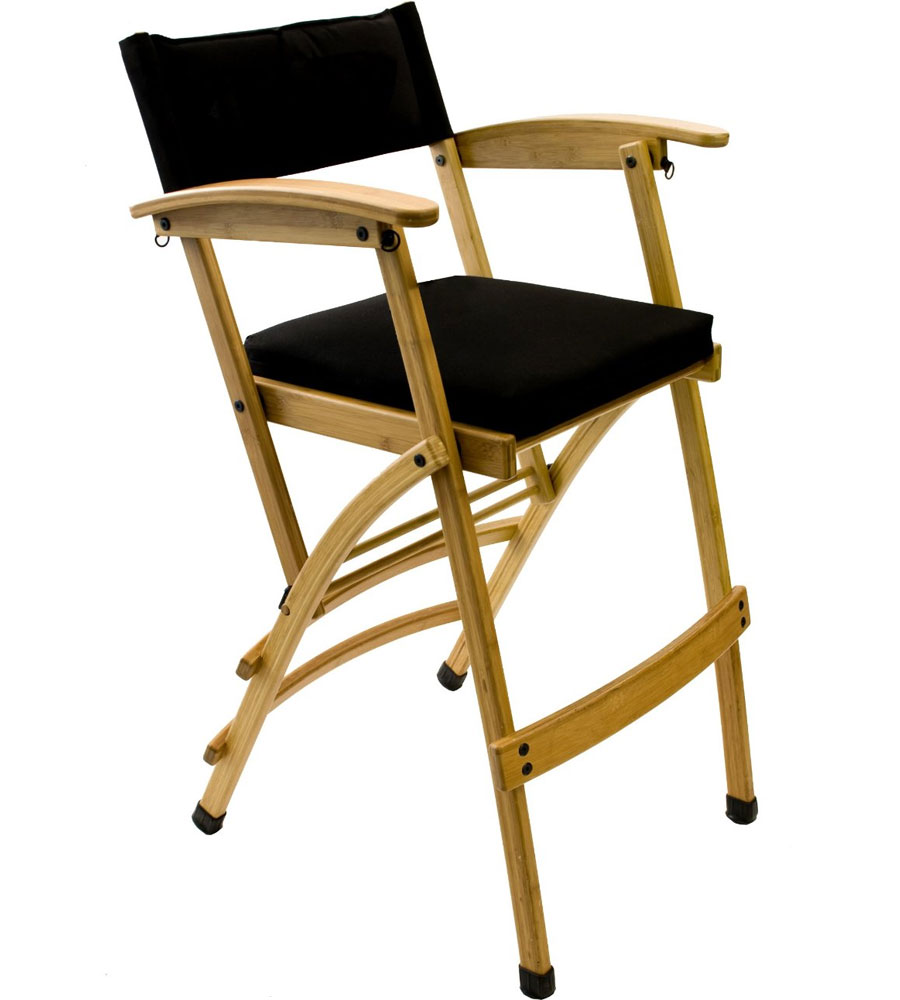 Tall Bamboo Directors Chair In Accent Chairs