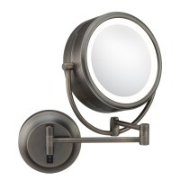 Wall Mounted Makeup Mirror - Double-Sided in Wall Mirrors