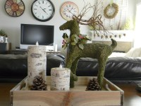 Natural/Outdoorsy/Woodsy Christmas Decor - Organize and ...
