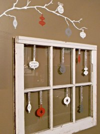 Old Windows as Decor - Organize and Decorate Everything