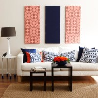 Decorating with Red, White and Blue - Organize and ...