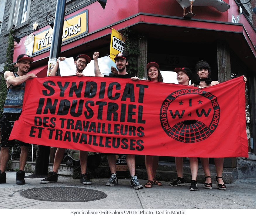 Solidarity and Power in the Face of a Terrified Employer:  The IWW campaign at Frite Alors