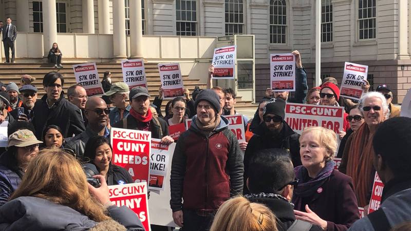 CUNY Adjuncts Vs. Everybody