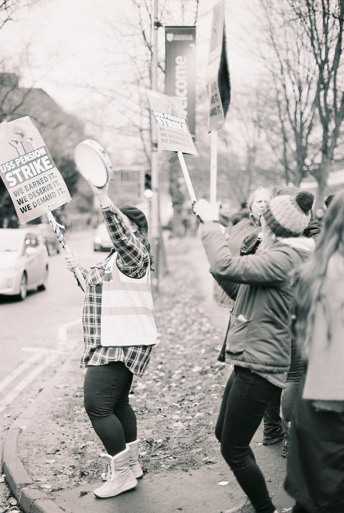 The university is a business: interview with a faculty member on strike in the UK