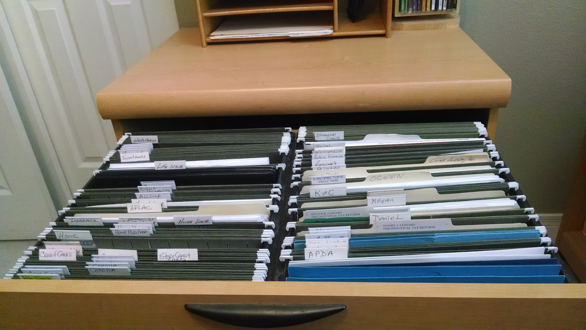 Charmant Home Office Filing System