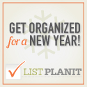 Get Organized for a New Year with ListPlanIt