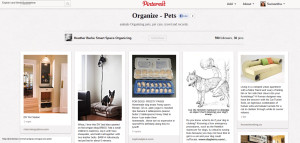 Organize Your Pet Pinterest Board