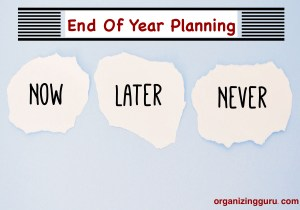 End of Year Planning