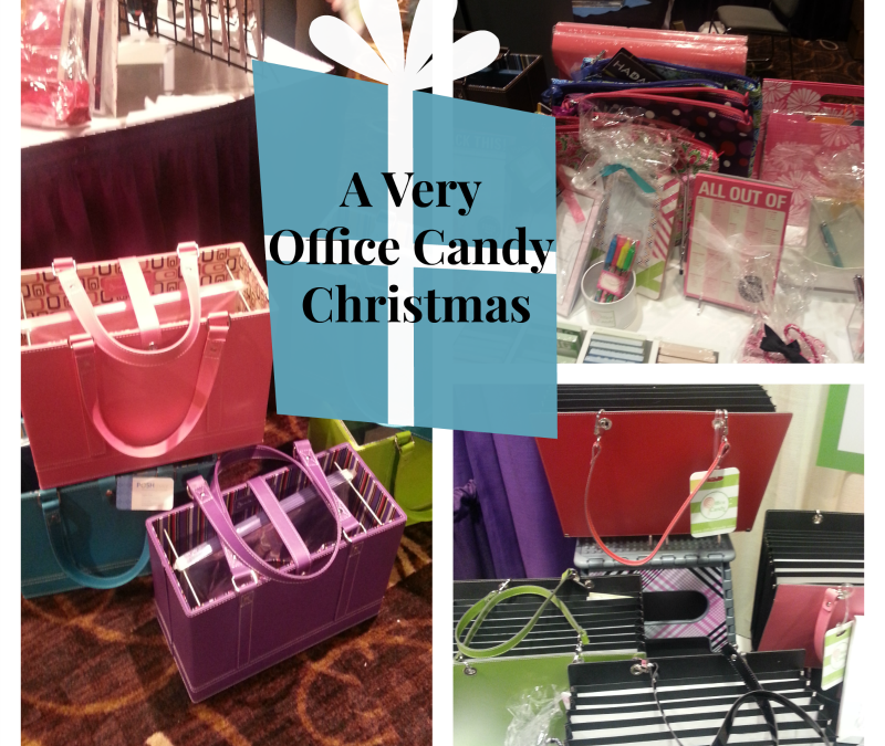 A Very Office Candy Christmas: 5 Stocking Stuffers for the Organizationally Challenged