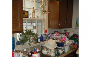 Unorganized Kitchen