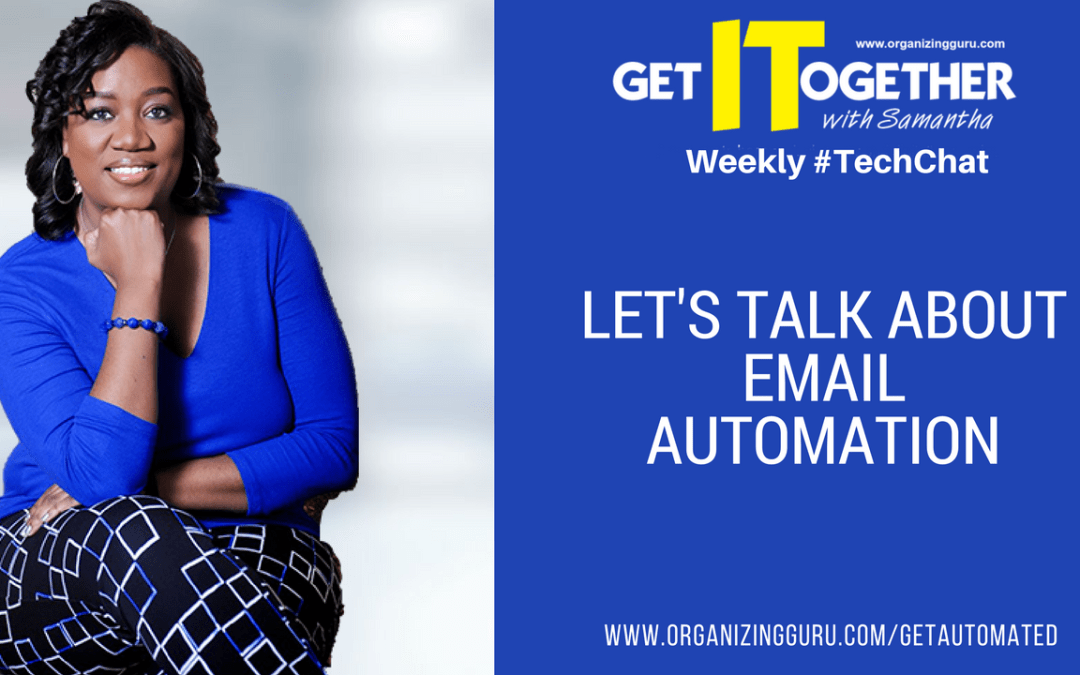 #TechChat – Let's Talk About Email Automation