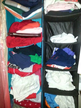 Kansas City Closet Organize - Winter Clothes