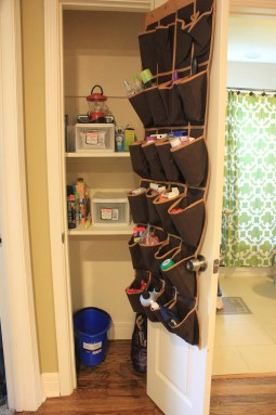 Organizing For Every Room!- organized hall closet