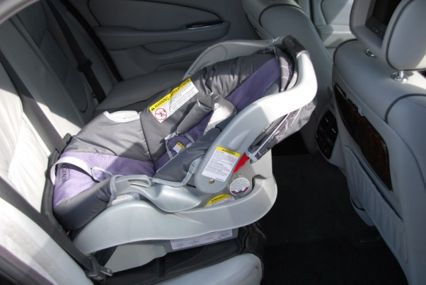 Car seat installed