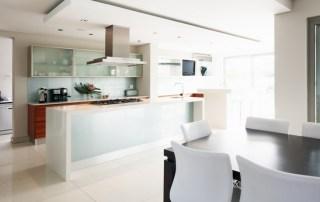 modern organized kitchen