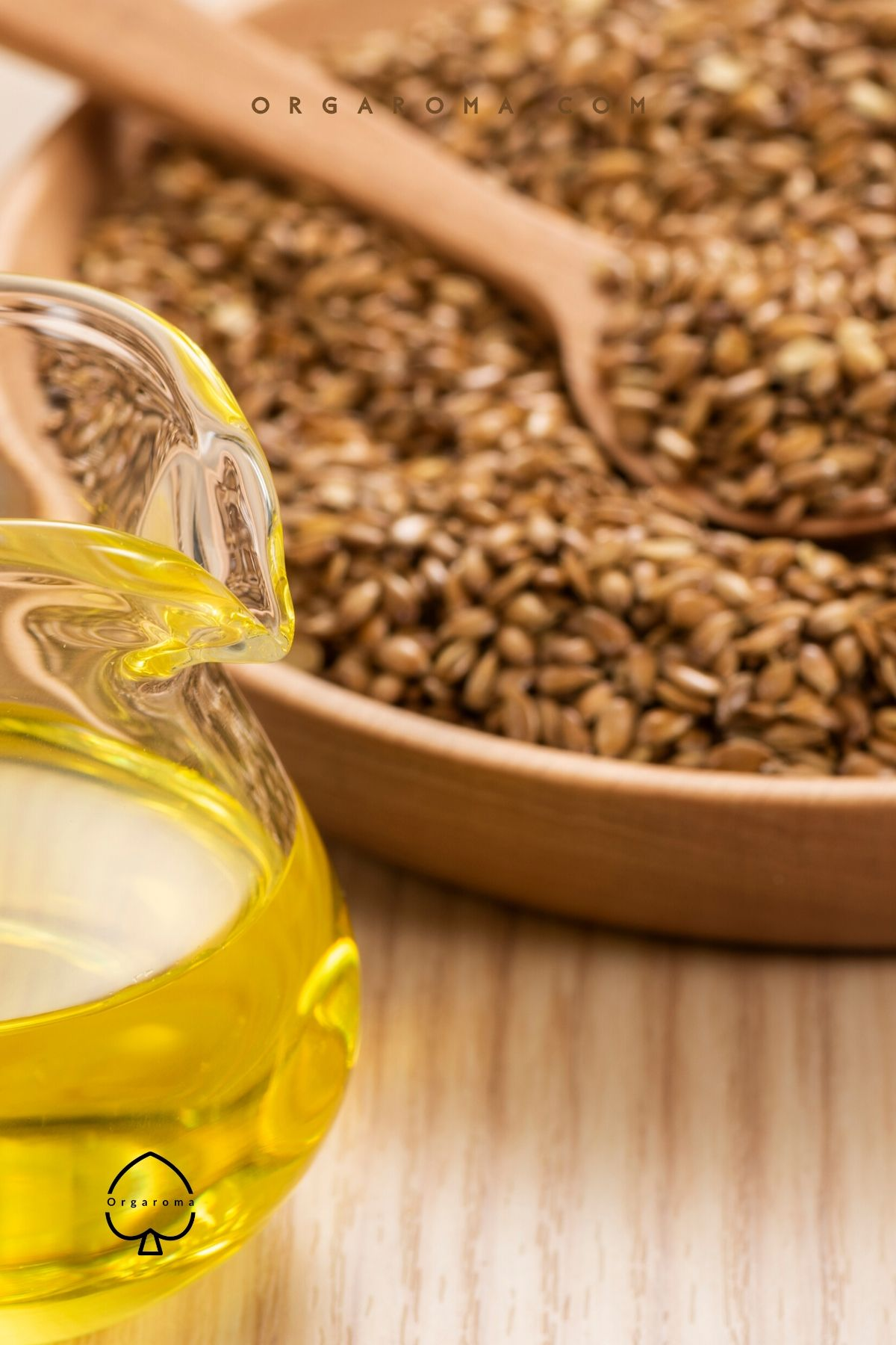 Flaxseed oil for skin