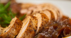 pork tenderloin with apple onion sauce