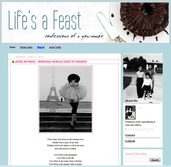 Life's a Feast, a food blog by Jamie Schler