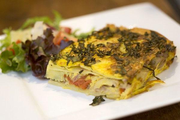 Mediterranean Frittata at hotlyspiced.com