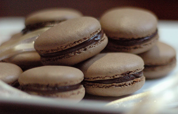 chocolate macarons recipe