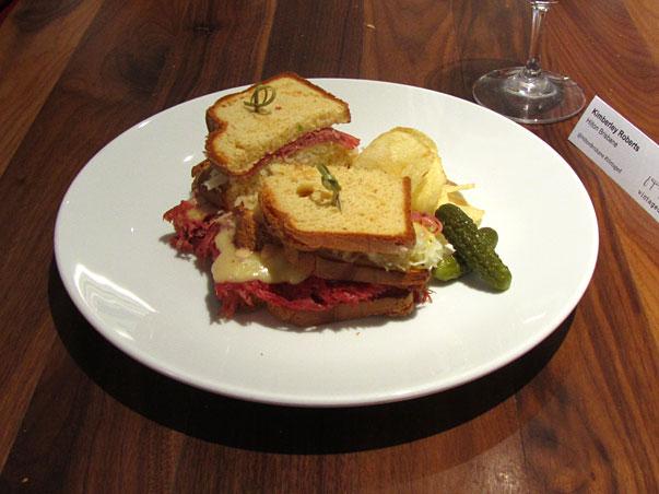 gluten free reuben sandwich