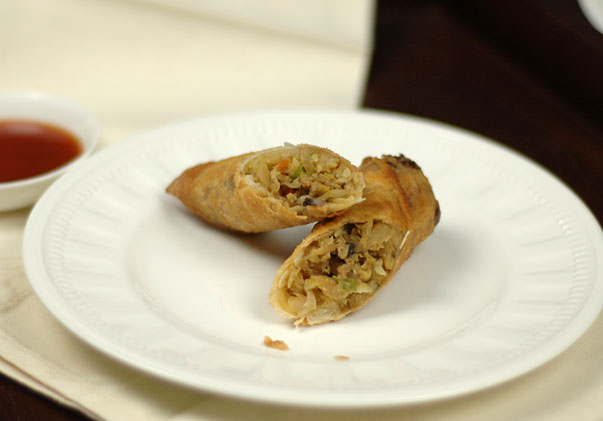 Homemade spring roll recipe