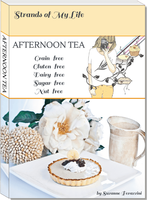 afternoon tea by Suzanne Perazzini