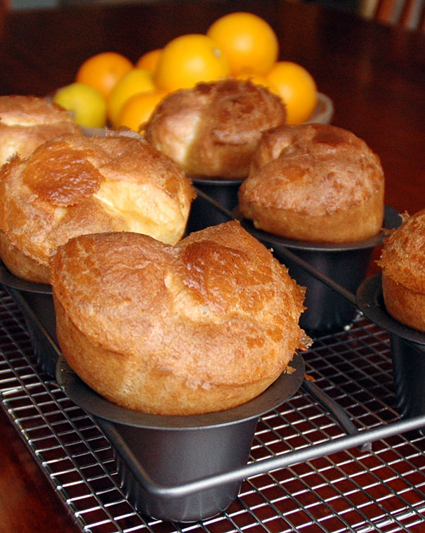 popovers right out of the oven