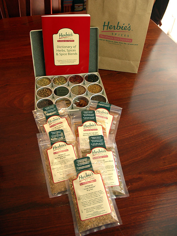 herbie's spices giveaway
