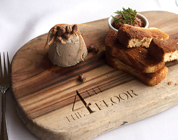 Duck Pate with Brioche Toast